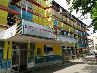 Kežmarská nemocnica pokračuje v modernizácii budovy