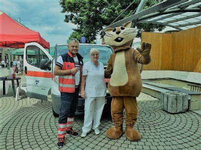 Kežmarská nemocnica zabezpečila zdravotnú službu počas festivalu Európske ľudové remeslo