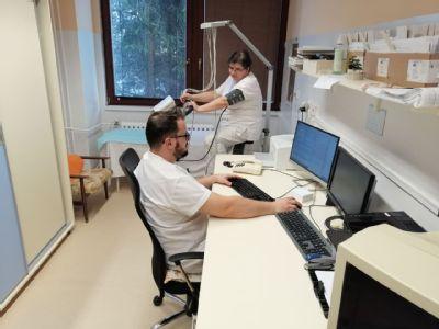 Pacienti v kežmarskej nemocnici môžu absolvovať vyšetrenie srdca na novom záťažovom ergometri