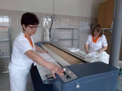 V kežmarskej nemocnici ročne vyperú 83 ton prádla