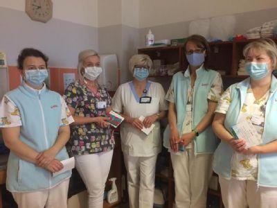 V Nemocnici Kežmarok poďakovali sestrám a pôrodným asistentkám za ich obetavú a profesionálnu prácu