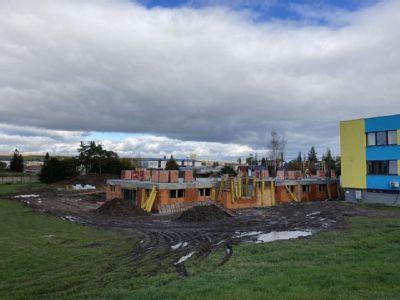 Po viac ako dvoch mesiacoch stavba Centra integrovanej zdravotnej starostlivosti výrazne postúpila