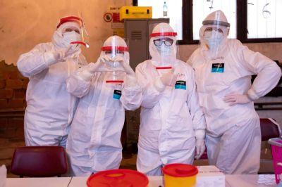 Počas druhého víkendového testovania otestovali  v kežmarskej nemocnici 900 ľudí