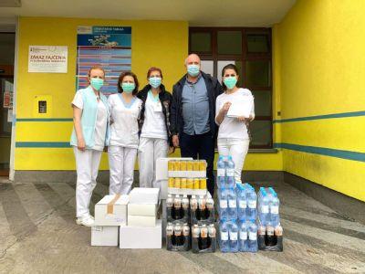 Kežmarská nemocnica dostala od spoločnosti SHELL dávku energie