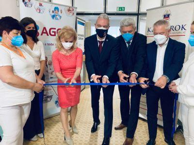 V Kežmarku otvorili vakcinačné centrum
